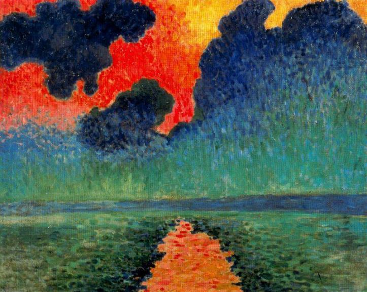 Andre-Derain-Effect-of-Sun-on-the-Water-London